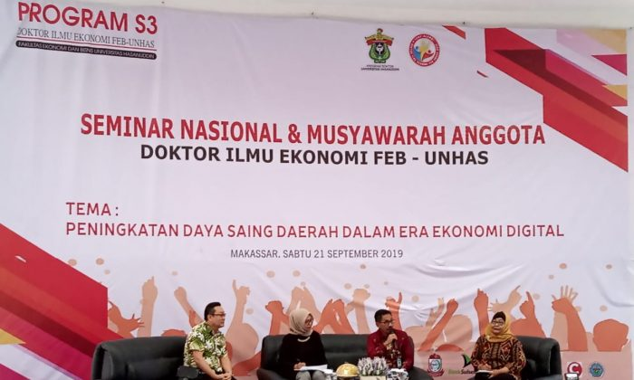 temu alumni doktor ilmu ekonomi feb unhas adakan seminar nasional