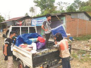 Distribusi Bantuan Logistik Korban Bencana Alam